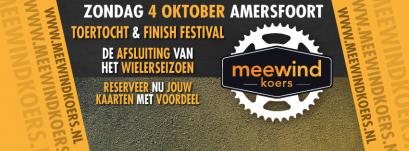 Meewind partner in nieuw en duurzaam wielerevenement