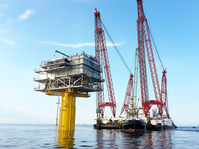 Voortgang bouw Nobelwind en ontwikkelingen Europese offshore windmarkt