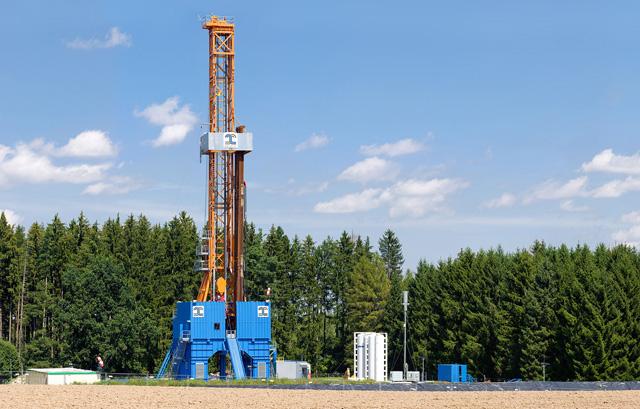Geothermie boorinstallatie