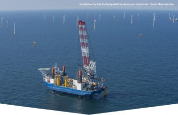 Windpark Nobelwind volledig operationeel
