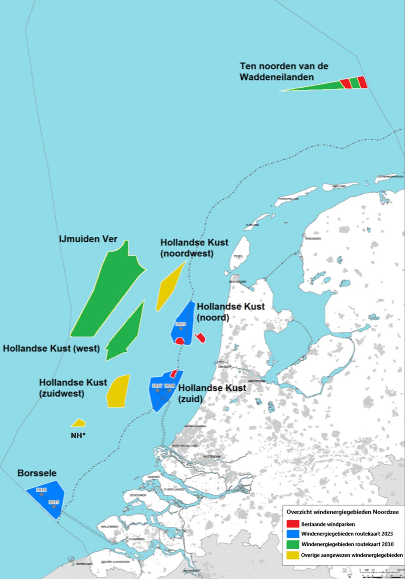Onderweg naar IJmuiden ver: 'Routekaart windenergie op zee 2030'