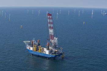 Bouw windpark Nobelwind eerder klaar